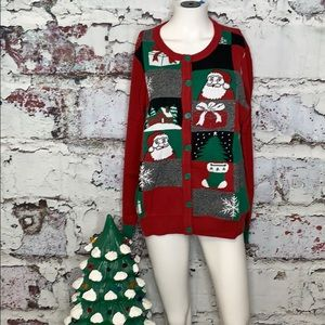 Sweaters - Ugly Christmas sweater cardigan